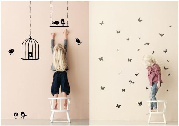 Детское творчество в своей комнате