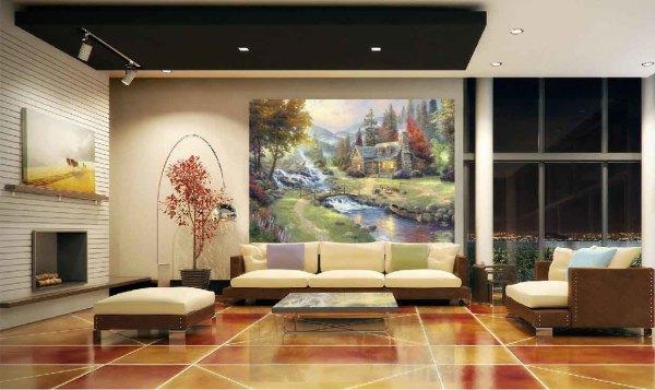 Фотообои со сказочным изображением, принесут романтическую атмосферу в интерьер любой комнаты