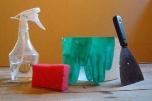 Инструменты для удаления обоев