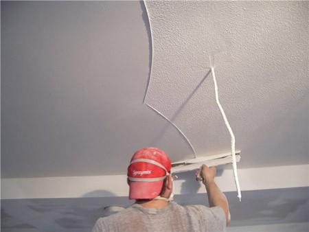 Как отштукатурить потолок из гипсокартона