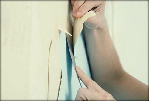 Как снять виниловые обои со стены