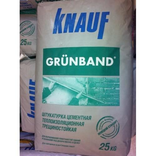 Кнауф Грюнбанд – штукатурка теплоизоляционная фасадная 25кг в бумажном мешке