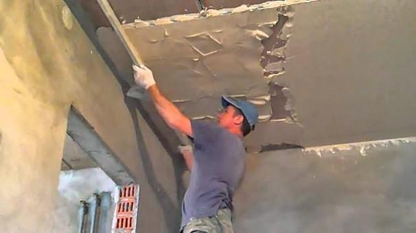 Штукатурка потолка своими руками: видео и правила работы otdelka-expert.ru