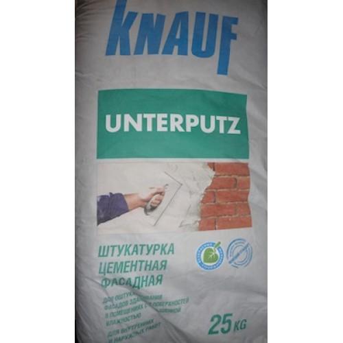 Одна из самых популярных фасадных штукатурок – Унтерпутц
