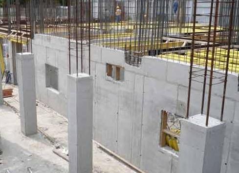 Применение монолитного бетона