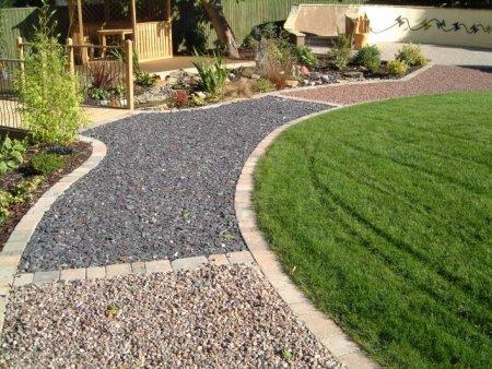 Садовые дорожки с применением керамзита