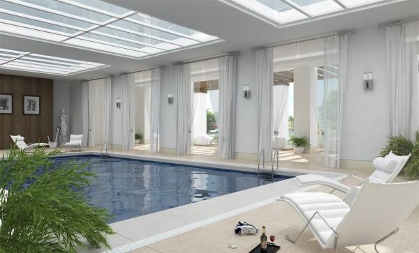 Штукатурка бассейна – отличный вариант отделки помещения