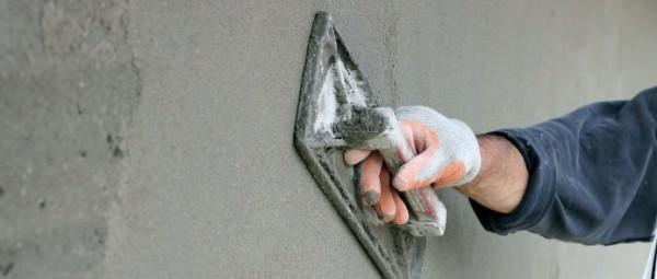 Штукатурка пенопласта цементным раствором
