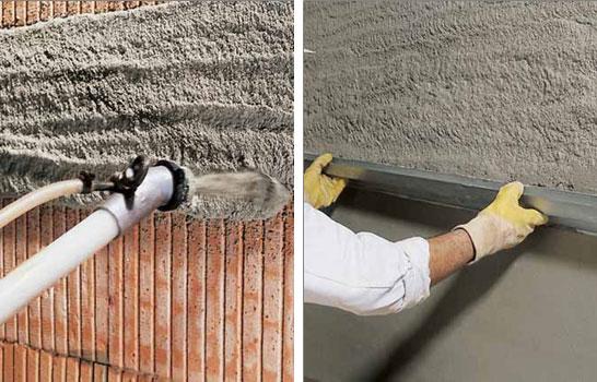 Штукатурная смесь цементно известковая