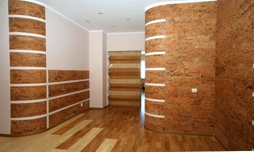 Теплоизоляция стен пробкой