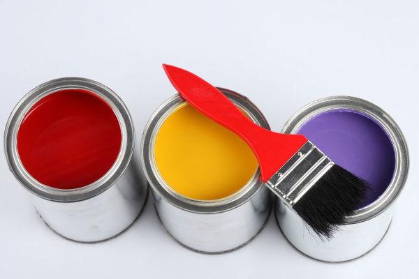 Виды краски для виниловых обоев
