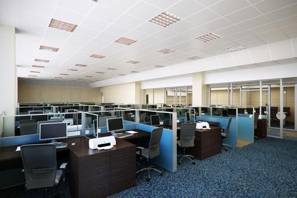 Зонирование пространства в офисах