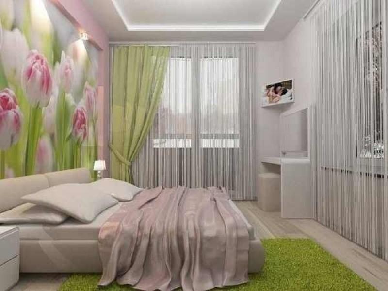 Фотообои для спальни тюльпаны, добавят нежности в любой интерьер спальни