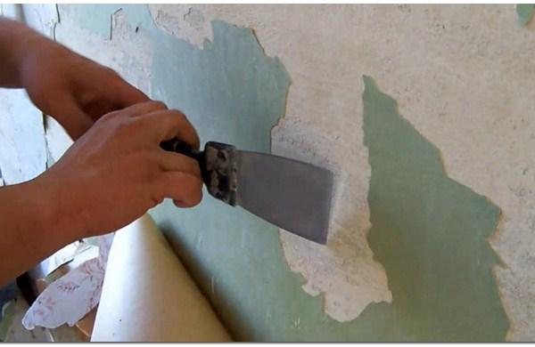 Делаем подготовку стены