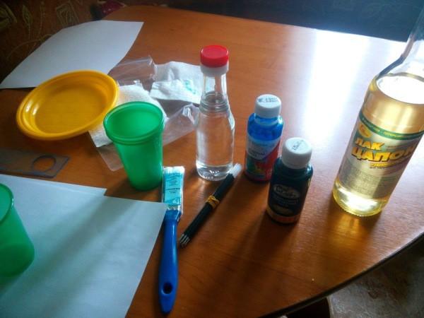 Делаем покраску