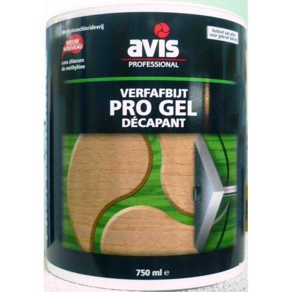 Гель-смывка для деревянных поверхностей Avis
