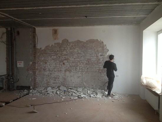 Готовим стены к нанесению штукатурки