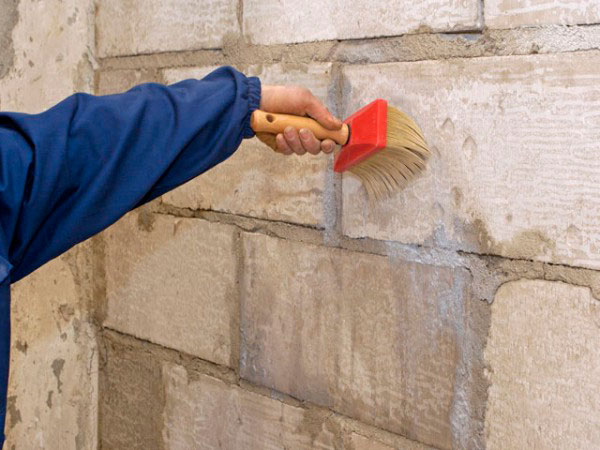 Грунтовка для стен из пенобетона