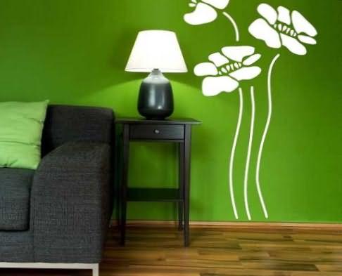 Как перекрасить декоративную штукатурку