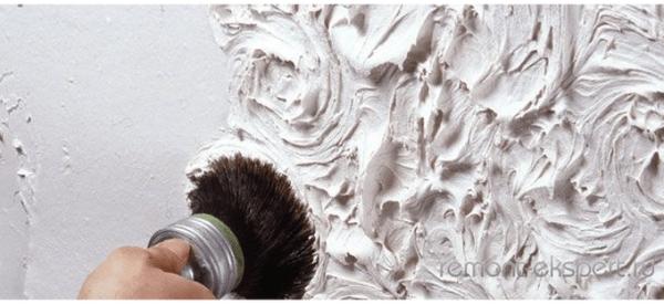 Как самим сделать декоративную штукатурку