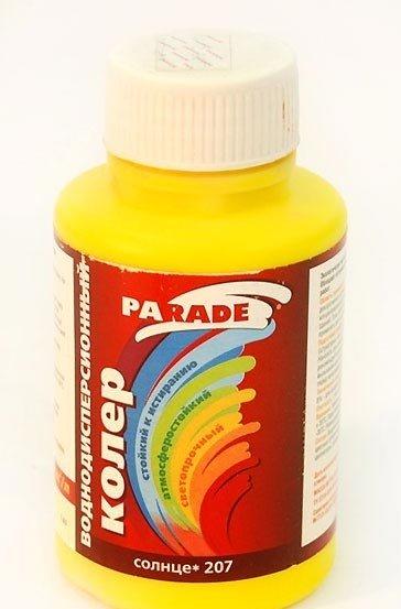 Колеровочная жидкость воднодисперсионная для красок и штукатурок