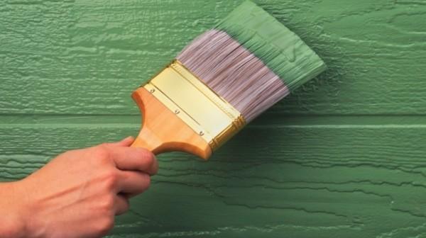 Краска полуматовая для наружных стен