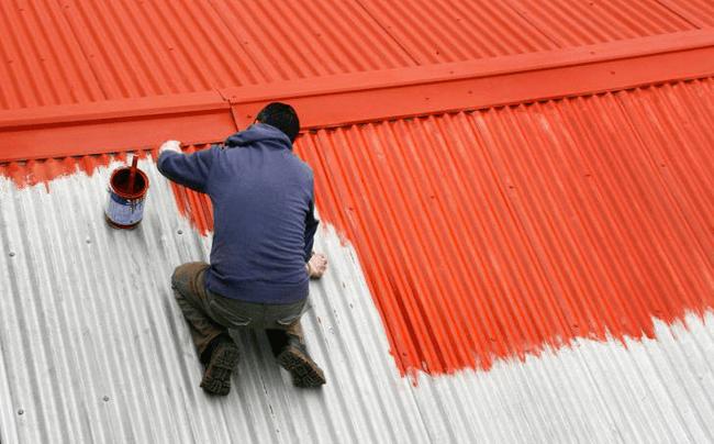 Как покрасить профнастил оцинкованный своими руками