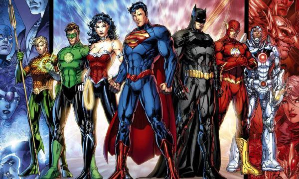 На фото, изображение популярных героев комиксов, рисунок о котором, наверняка, мечтают многие мальчишки
