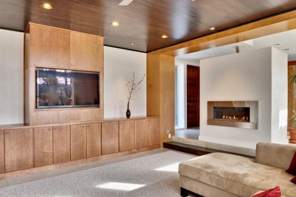 Обрамление двух предметов деревянными панелями