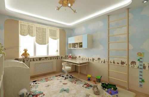 Обращаем внимание на общую стилистику комнаты