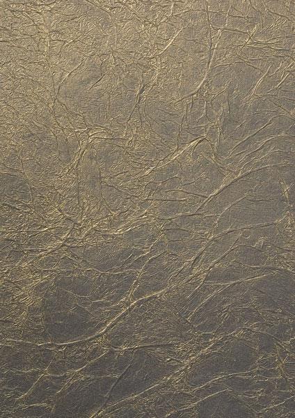 Поверхность, обработанная металликом под золото