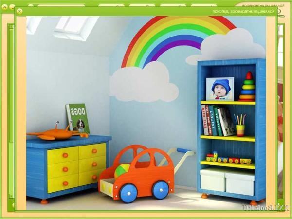 Самая обычная радуга, может стать настоящим украшением комнаты вашего малыша. Красота в простоте