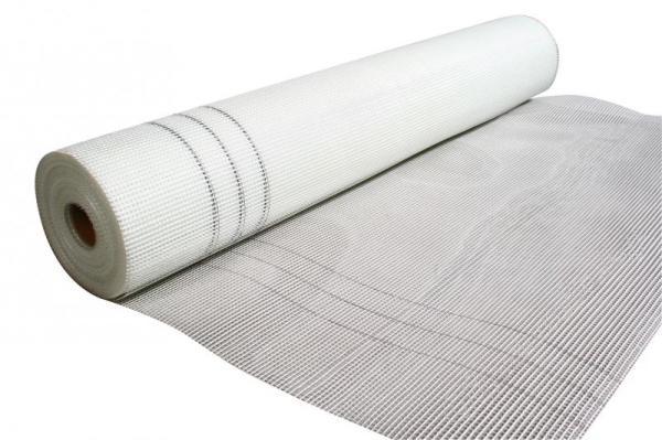 Стеклотканевая сетка для армирования штукатурного слоя