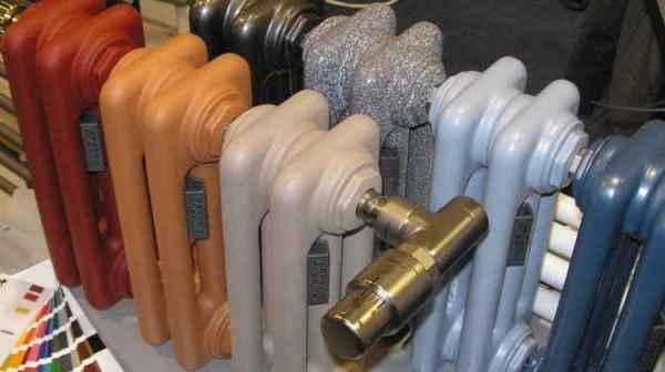 Чем красить трубы отопления