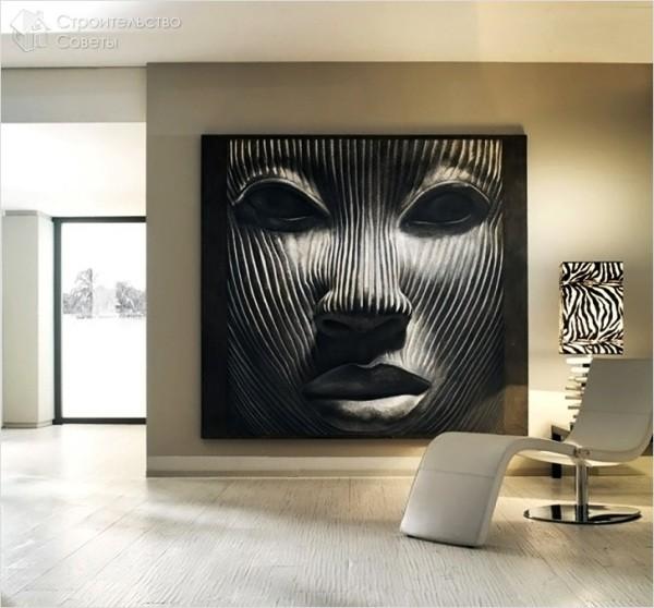 Декоративная фреска на стену
