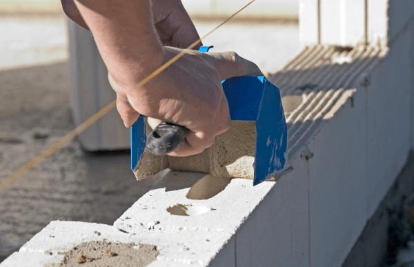 Как класть стены из пеноблоков