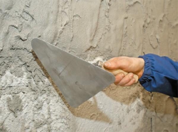 Как наносить штукатурку старые стены