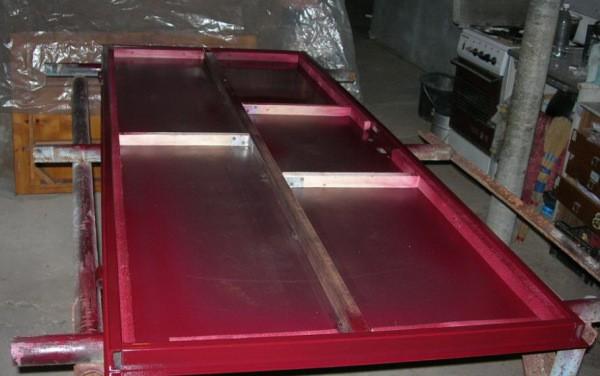 Как покрасить стальную дверь