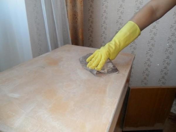 Как покрасить стол из дсп и подготовить поверхность