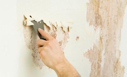 Как производится подготовка бетонных стен под обои
