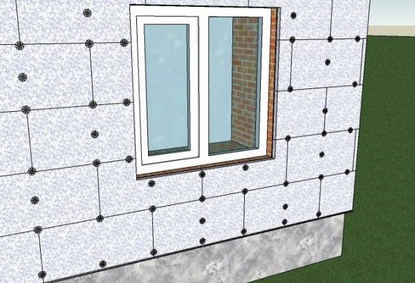 Как утеплить стены пенопластом снаружи своими руками