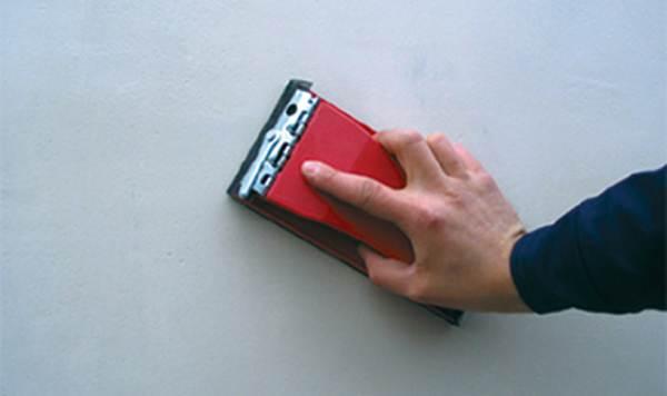 Как затирать цементную штукатурку