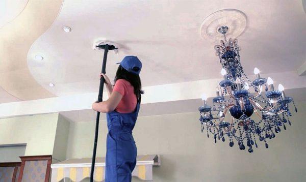 Можно ли мыть потолок покрашенный водоэмульсионной краской