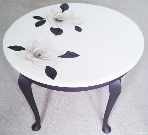 Объемный способ декорирования мебели