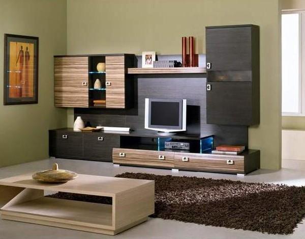 Обои созвучные с цветом мебели