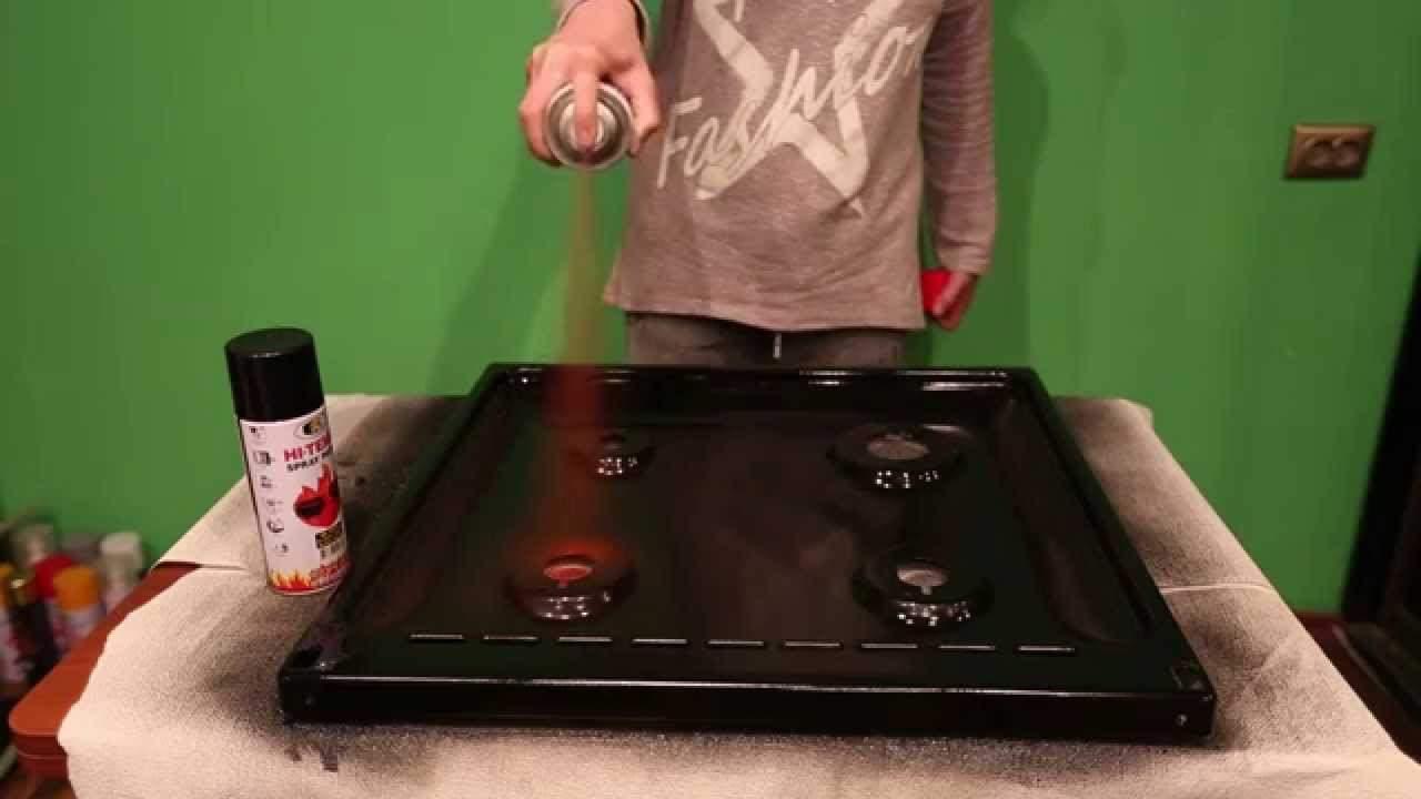 Краска своими руками для печи металл