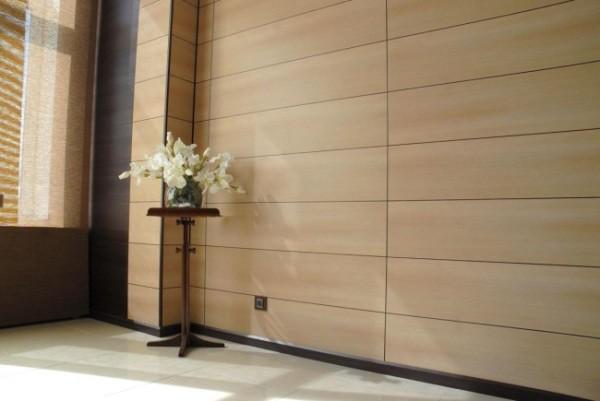 Применение МДФ панелей для стен