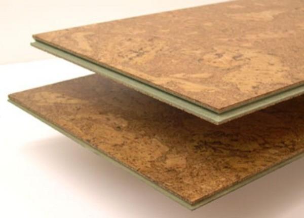 Пробковый ламинат с защищённым верхним слоем. Идеальное покрытие не только для пола, но и для стен