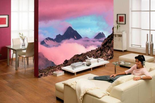 Расцветка изображений фотообоев может быть различна, что позволяет подобрать нужную под свой стиль интерьера в комнате