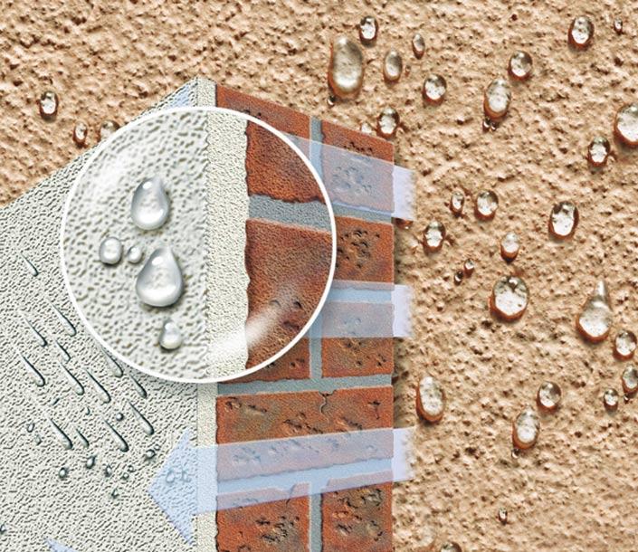Отделка фасада мокрый фасад цена